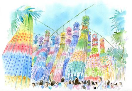 tanabata_水彩_古山_祭_東北.jpg